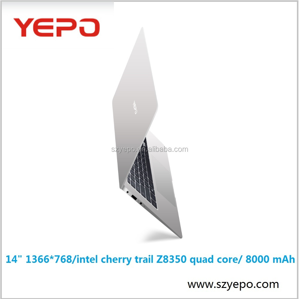 Yepo hotsale 14 inch 8000 mAh <strong>battery</strong> notebook laptop