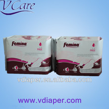 butterfly sanitary napkins manufacturer in china