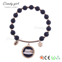 Candygirl Brand Handmade Black Accessories Beads