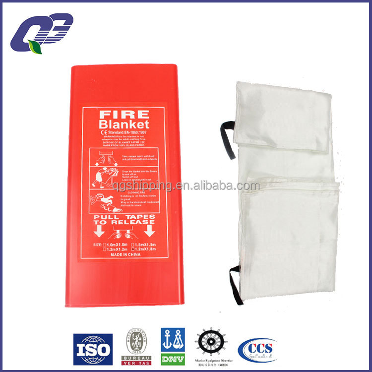 firefighting fire blanket for marine use