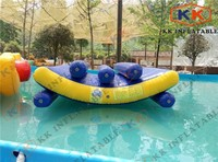 Frame pool air games inflatable seesaw toys for kids