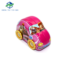 Custom Tin Food Box Toy Car Shaped Biscuit Tin Box Manufacturer In China