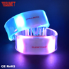 B28 New Product More Function RGB Custom Programmable Remote Controlled Flashing Led Silicone Bracelet Light Up Wristband