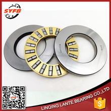 High precision brass cage cylindrical thrust roller bearings 89322M