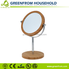 7 Inch Double Sides wooden framed wall mounted mirror