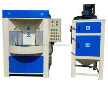 Intermittent automatic sandblasting machine for bottle