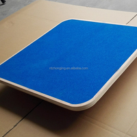 Non Slip Sandpaper Calf Stretcher Wooden
