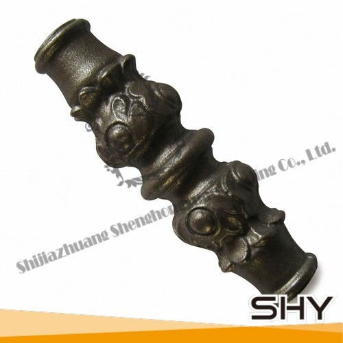 ornamental fence parts density cast iron