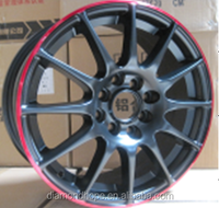 (ZW-Q3004)three style of processes with alloy wheels for sale