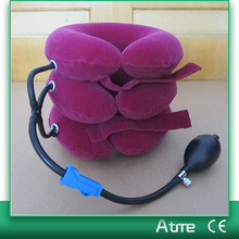 Air Cervical Neck Traction Device Soft Massager Headache Head Back Shoulder Neck Pain Relaxation Brace