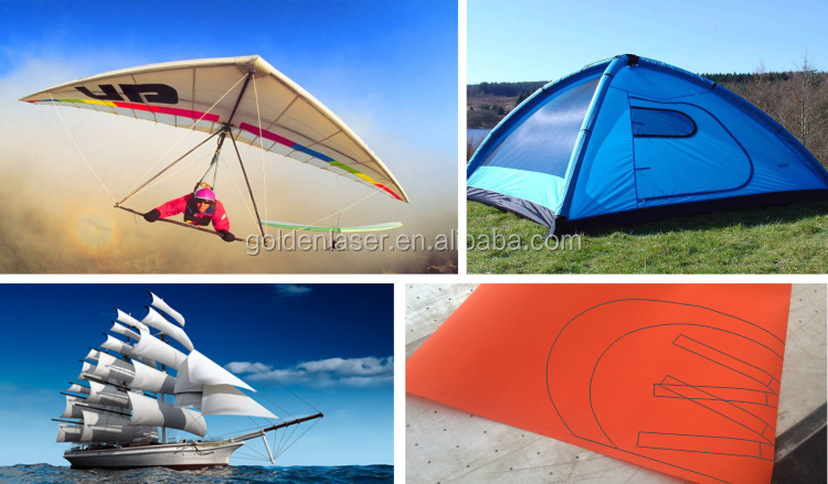 High Speed High Precision CO2 Laser Cutter for Parachutes,Gliding Umbrellas,Sail and Tents