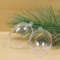 Clear Plastic Balls plastic egg decorative christmas tree balls
