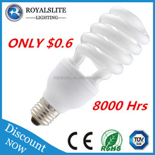 T2 E27 B22 Base 7W 9W 11W 13W 20W 30W 40W spiral cfl light Bulb