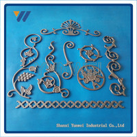 Promotional Factory Cheap Cast Iron Steel Security Window Grill Fence