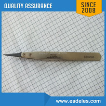 7-SA Vetus stainless steel electronic tweezers for micro electronic