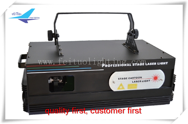 Guangzhou stage laser lighting 3w animation disco laser light