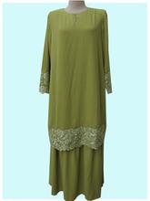 Kaftan Fashion Islamic Clothing Baju Kebaya Muslim For Ladies Abaya Dress