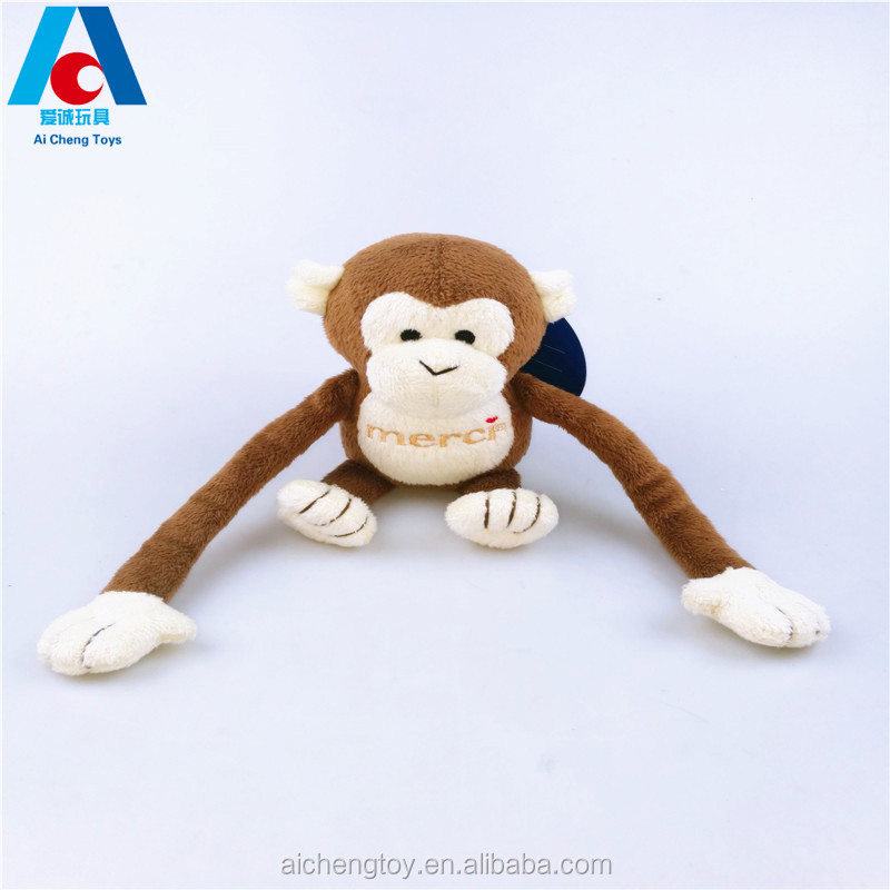 funny tell story plush stuffed toy magnetic plush monkey