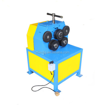 ventilation duct angle iron bending machine / flat steel roll former machine