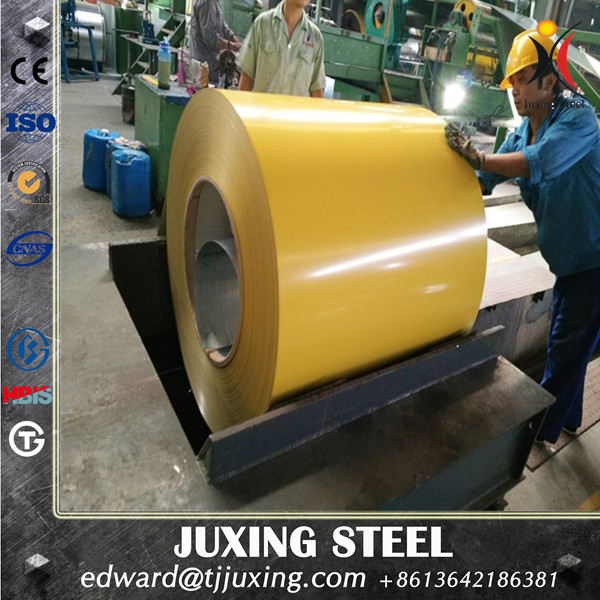 Non Secondary Color Coated PPGI, Prepainted Galvanized Steel Coil, PPGI Coil from Tianjin
