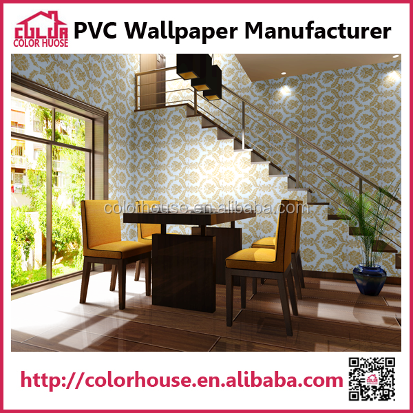 fashion design oriental style wall decoration paper for home