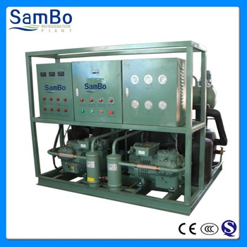 Dry ice machines with large capacity, capable of producing very large quantities of dry ice block machine
