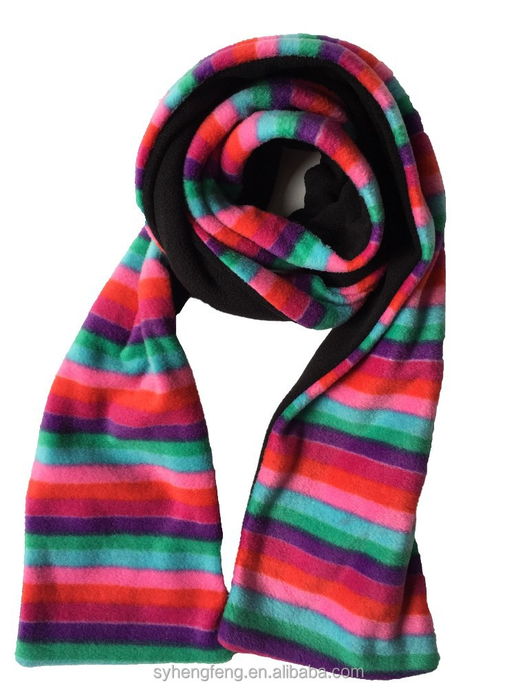 2016 style colorful stripe scarves buy