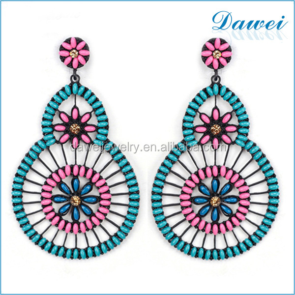 Calabash Shaped Fashion Cool Designer Korean Jewelry Earrings For Cute Girls