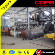 Waste plastic pyrolysis plant /Crumb rubber making equipment