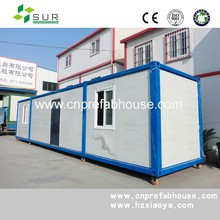 40ft movable lunury container house container office to Indonesia