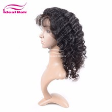 new arrival 100% virgin remy no chemical no grey no lice front lace wig