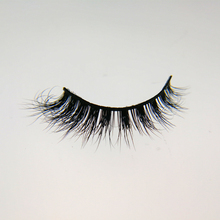 Good 100% real mink fur fake lashes