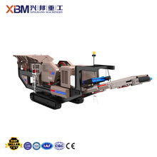 Quarry and mining trailer mounted mobile rock crusher, trailer jaw crusher plant, mobile crusher plant for leasing