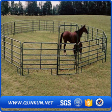 qunkun anping china wholesale galvanized used horse panel / portable horse stall / flexible horse fence(10 years experience)