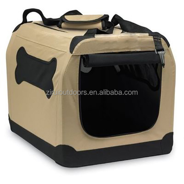 Pet custom car carrier dog cage