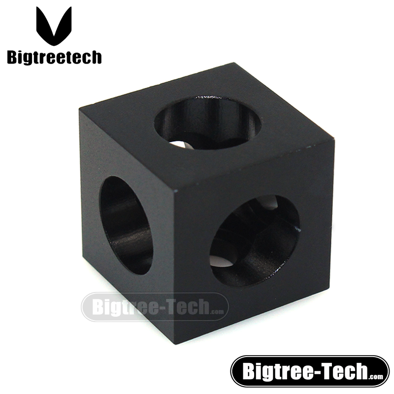 3d printer CNC parts For V-slot Cube Corner Connector For C-beam extrusions profile openbuild machine