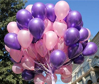 Decorating Purple and Pink color Party Wedding Balloons/ Latex Balloon