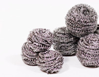 stainless steel wool scrubber/cleaning scourer