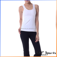 Wholesale women sports tops OEM gym tank top for bodybuilding tank top gym wear running singlet.