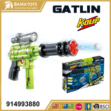 Crystal water bullet gun toy with gun and soft bullets