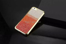 Hot sale Handmade Rhinestone Cover for iPhone 6 plus, for iPhone 6 plus Diamond Case