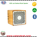 2017 free shipping wholesale wireless wood speaker bluetooth BSW21