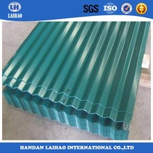 Trade assurance metal roofing sheet/color coated zinc corrugated steel roofing sheet China supplier