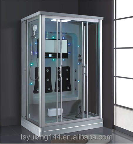 AD-902 High quality china products bathroom indoor 2 person acrylic sauna steam shower