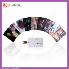 White thin card usb pen drive 2gb credit card usb flash drive 2.0 plastic card usb flash drive