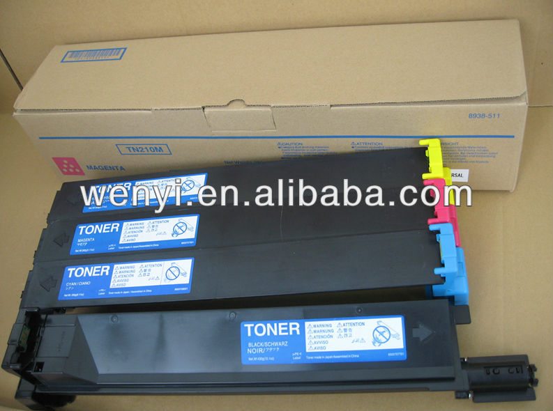 TN210 BK/C/M/Y color toner cartridge