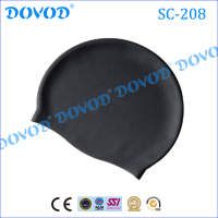 Comfortable softly silicone swim cap