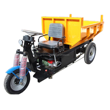 Easy operation motorized tricycle in india ,hydraulic mini dumper for sale
