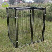 Factory Galvanize Wire Heated Dog Kennel And Crates