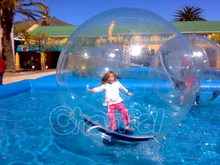 human water zorb balloon kid size hamster ball inflatable water walking ball